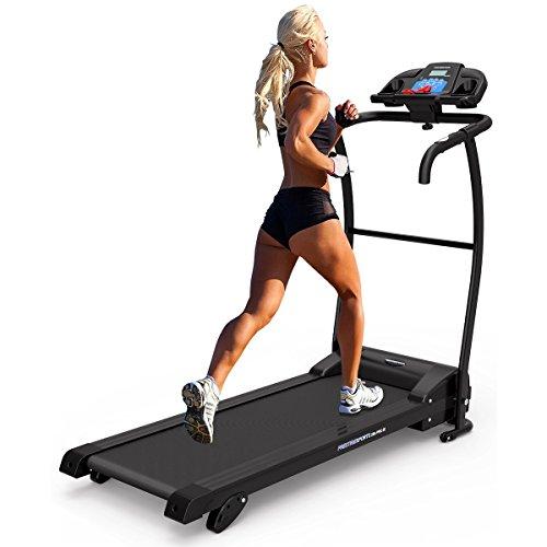PrestigeSports XM-PROIII Treadmill 2020 Model Motorised Running Machine, Folding, 12KPH Speed, 3 Level Manual Incline,Speakers, 12 Auto + 1 Manual Program, Pulse Sensors