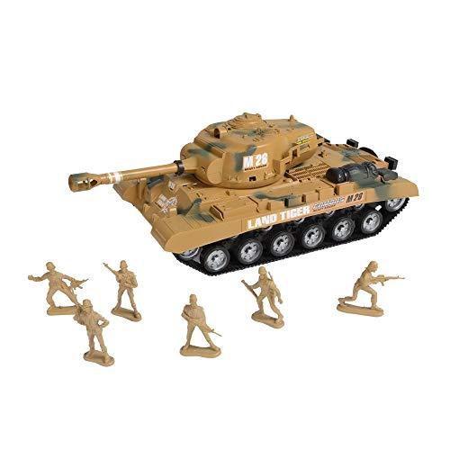 kandy toys - Confezione da gioco con carro armato militare e soldati
