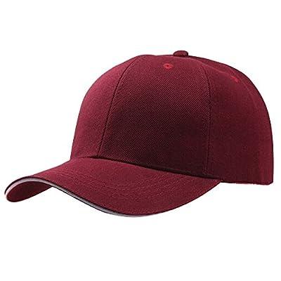 KFSO Women Man Classic Cotton Dad Hat Hip-Hop Adjustable Plain Cap Polo Style Low Profile