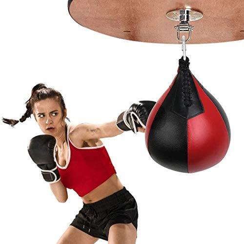 kemanner Palla da Boxe da Appendere Speed Box per Palestra MMA Boxing da Allenamento Pera Veloce