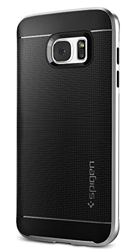 Spigen Neo Hybrid Designed for Samsung Galaxy S7 Edge Case (2016) - Satin Silver