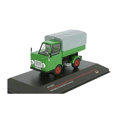 Multicar M22, vert, 1965, voiture miniature, Miniature déjà montée, iST Models 1:43