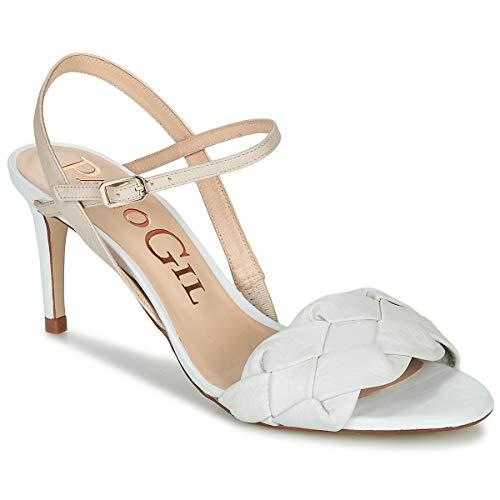 PACO GIL IBIZA MINA Sandalen/Open schoenen dames Wit Sandalen/Open schoenen