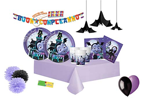 DECORATA PARTY Kit n 46 Vampirina Hauntley Coordinato Decorazioni...