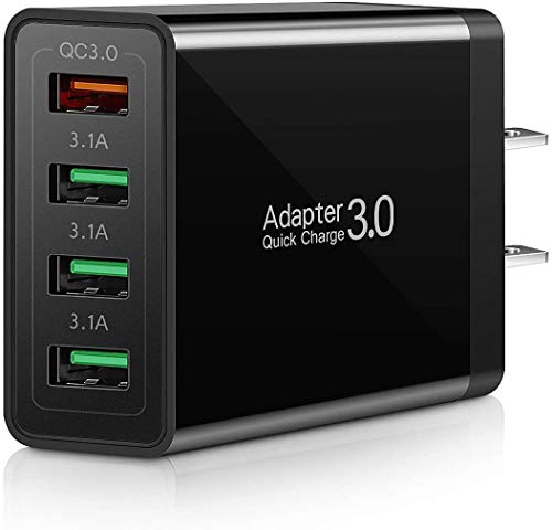 UltiCharge - BoltzPro, MultiVoltz, 4-Port 40W USB Ultra Fast Smart Charger, Compatible with All Leading Mobile Devices, 100% Safe Charging, Ιdeal Way to Charge Multiple Devices at Once