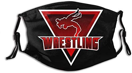 shuiguo USA Wrestling Mundschutz, schützende 5-Lagen-Aktivkohlefilter Erwachsene Männer Frauen Bandana