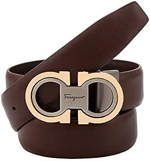 Men's Fashion Comfort Genuine Leather Belt Adjustable Buckle