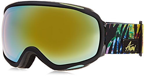 Burton Damen Snowboardbrille TEMPEST, Jungle/Gold Chrome, One size