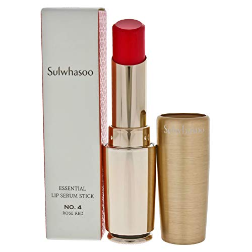 Sulwhasoo Essential Lip Serum Stick Treatment, No.04 Rose Red, 0.1 Ounce