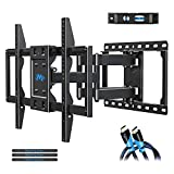 Mounting Dream TV Mount Bracket for Most 42-70 Inch Flat Screen TVs, Full Motion TV Wall Mounts with Swivel Articulating Dual Arms, Max VESA 600x400mm, 100 LBS Loading, Fits 16