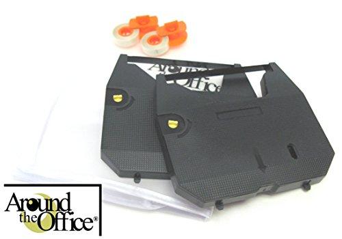 Um die Office kompatibel Brother Schreibmaschine Farbband & Korrekturroller für Brother sx-4000Schreibmaschine. Dieses Paket enthält 2Schreibmaschine Bänder und 2Lift Off Tapes