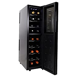 Koolatron WC12 – Thermoelectric 12 Bottle Slim Wine Cellar