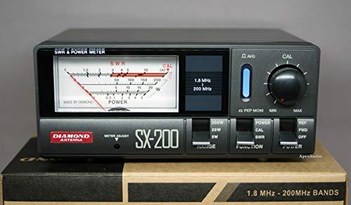 Diamond SX-200 - RosmetroWattmetro 1.8-200 MHz - 520200 Watt