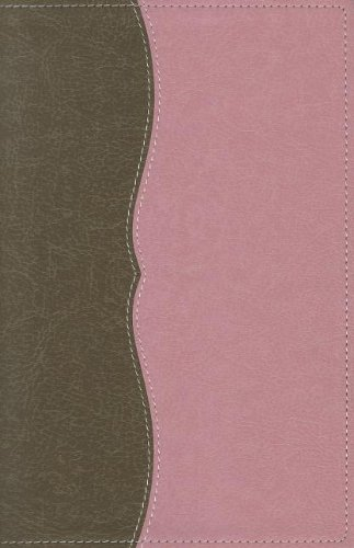 NASB, Classic Reference Bible, Leathersoft, Brown/Pink, Red Letter Edition: The Perfect Choice for Word-for-Word Study of the Bible