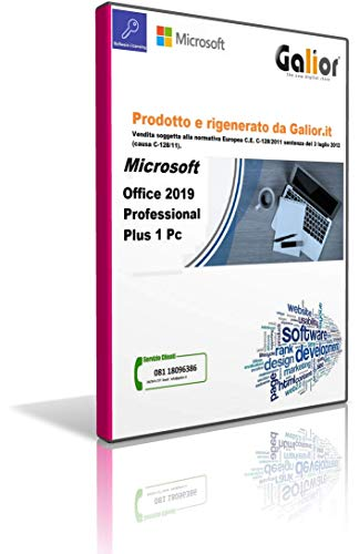 Office 2019 pro plus versione perpetua