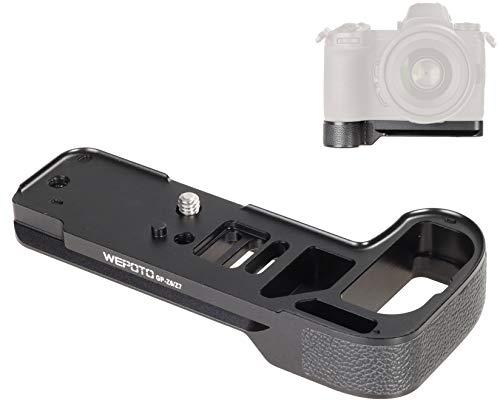 WEPOTO GP-Z7 Camera Quick Release Plate Handle Quick Release Bracket Compatible Nikon Z6 Nikon Z7