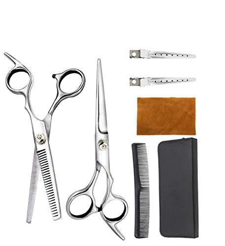 [ The fastest delivery ] Innoo Tech Hair Cutting Scissors Set, Salon Hairdressing Safety Scissors Set for Hairdressing, Thinning, Texturizing Home Use
