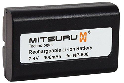 Mitsuru 900mAh batería de repuesto para MINOLTA NP800NP-800, Konica Minolta DG-5W Dimage A200