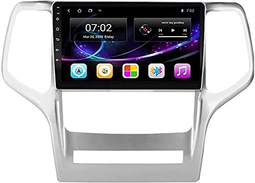 Navegador de coche Android 10.0 Radio para Jeep Grand Cherokee WK2 2008-2013 Navegación GPS Unidad principal de 9 pulgadas Pantalla táctil HD Reproductor multimedia MP5 Video con WiFi DSP SWC Mirrori
