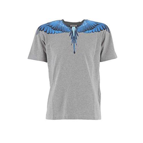 MARCELO BURLON KIDS OF MILAN T-Shirt Blue Wings 12A