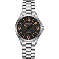 Hamilton Khaki Aviation Automatic Movement Black Dial Men's Watch (H7623513)