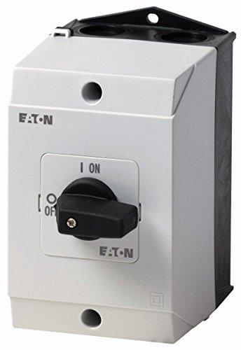 Eaton 207081 Ein-aus-Schalter, 3-polig, 20 A, 90 Grad, Aufbau