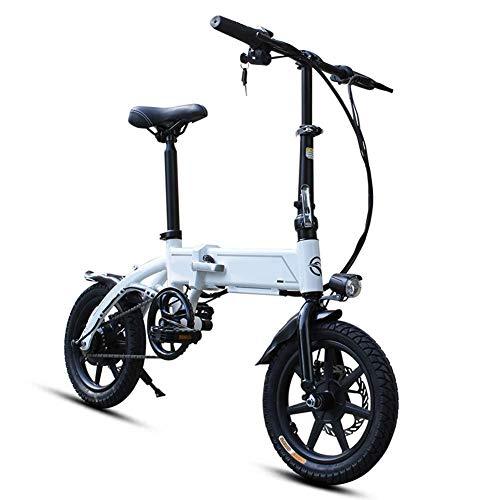 N&I Mini bicicleta eléctrica con batería de litio extraíble con pedal de...