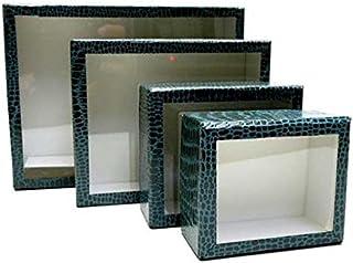 志賀ボール紙製硝子蓋標本箱 (<小型449>150×120×48mm)