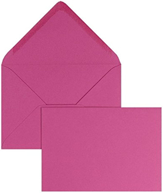 Blanke Briefhüllen - 100 Briefhüllen im Format 156 x 220 mm in Magenta B00FPNZWXW | Verschiedene Arten Und Die Styles
