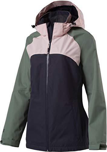 McKINLEY Damen Funktions Laga Jacke, Navy/Green Dark/Pink, 40