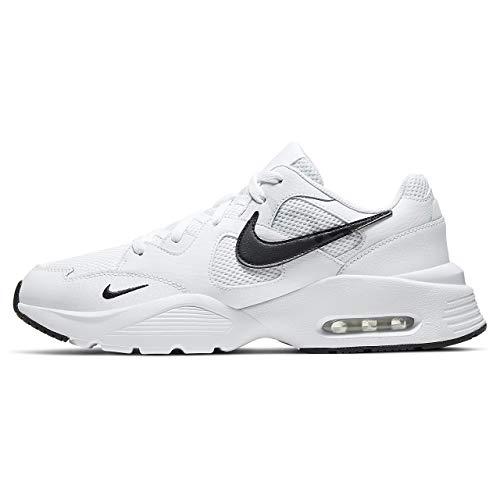 Nike Air MAX Fusion, Zapatillas para Correr para Hombre, White/Black/White, 45 EU