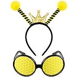 Bee Tentacle Headband Bee Antenna Hair Band...