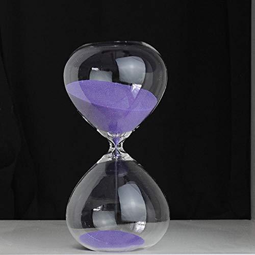 timer für Hourglass timer desktop decoration home decoration 30 minutes glass hourglass-purple timer für
