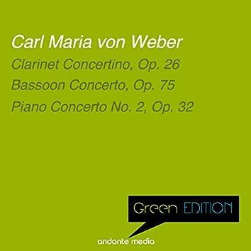 Green Edition - Carl Maria von Weber: Bassoon Concerto, Op. 75 & Piano Concerto No. 2, Op. 32