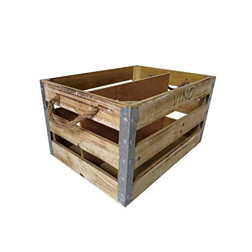 HTI-Line Holzkiste Vino Holzkiste Vino Aufbewahrung Kiste