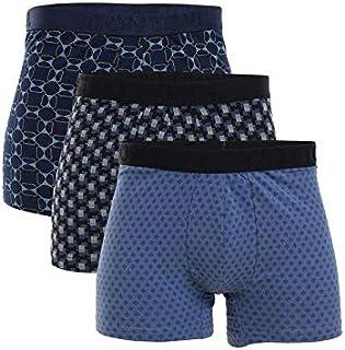 Set Of (3) Patterned Boxers Cottonil For Men