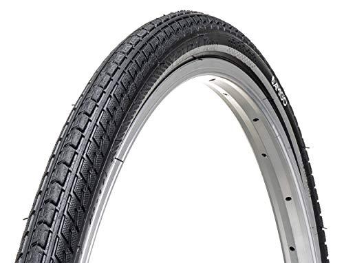 Amigo Ortem Toro Fahrradreifen - Fahrradmantel 28 Zoll 40-622 - mit Reflexstreifen - Schwarz