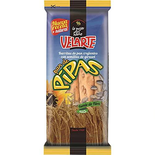 Velarte Artesanas pan de pipas bolsa 50 gramos (Caja de 55 bolsas de 50 gramos)