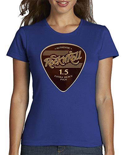 tostadora - T-Shirt Rock39n Roll Pick - Frauen Royalblau S