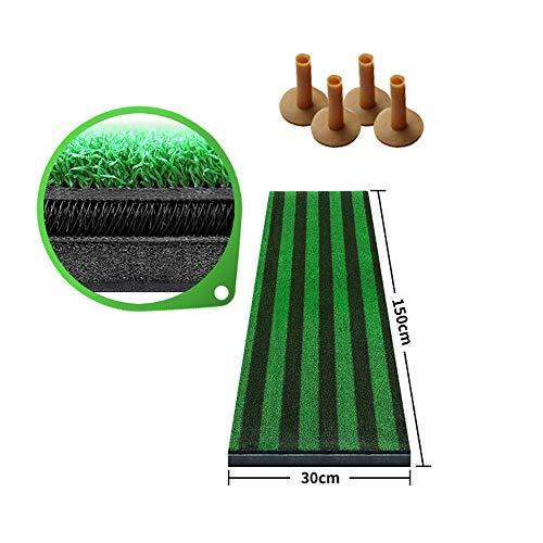 Review JHHXW Golf Pads, 150 30cm Guide Line Design Golf Putting Mats, Golf Practice Mat, Golf Mat, I...