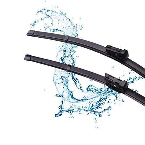"""Factor Wiper Blade Replacement for Volkswagen Jetta 2011-2019 VW PASSAT 2012-2018 -Original Equipment Windshield Wipers- 24""""/19"""" (Set of 2) Top Lock 16mm"""