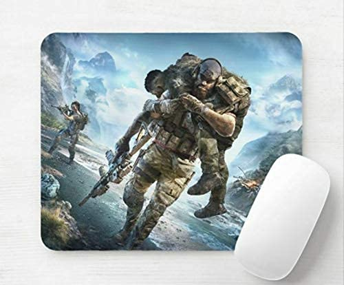 Younini Tom Clancys Ghost Recon Breakpoint Desktop Computer Mauspad 5 mm sehr dick 25,4 x 30,5 cm