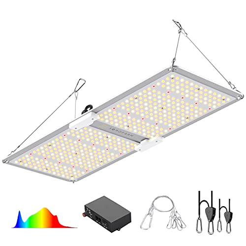 SONOFARM LED PRO Series SF 2000 2x4 Grow Light, Full Spectrum, Diodes Dimmable Grow Lights for Indoor Plants Veg to Flower Grow Tent 3000K 5000K 660nm 760nm IR