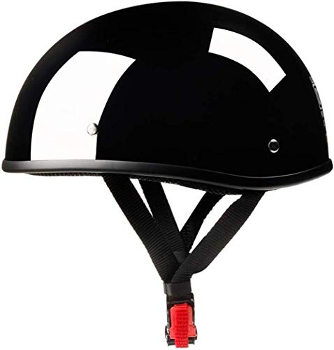 JMB Motorradhelm für Damen, für Outdoor-Spaß, personalisierbar, Schwarz, 59-60cm