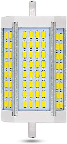 Ampoule R7S LED 118mm 30W Dimmable, 3000LM, Blanc Froid 6000K, Équivalent Crayon Halogène R7S J118 200W 300W, 200 Degrés de Lumière, Lampe R7S 118mm Dimmable LED pour Applique/Lampadaire/Projecteur