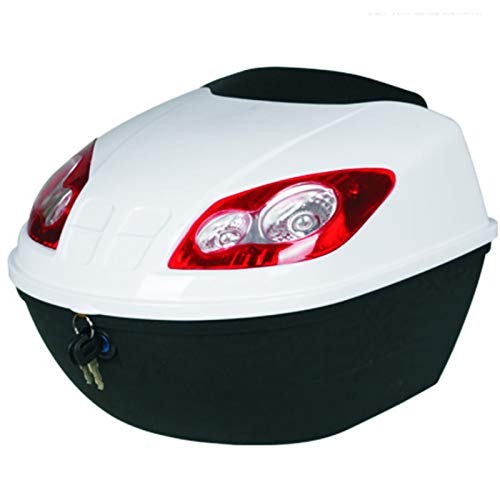 Caja de Herramientas de vehículos eléctricos de Tronco de Motocicleta Caja de Cola Universal Espesado Caja de Almacenamiento Anti-Shake Scooter Toolbox Caja de la Motocicleta de la Motocicleta