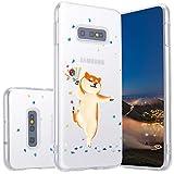 LuGeKe Coque transparente pour Galaxy S10e, en TPU souple pour Samsung Galaxy S10e, design mignon...
