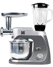 Herzberg HG5029-GRIS, professionele kookmachine, multifunctioneel, 3-in-1, grijs, 1000 W