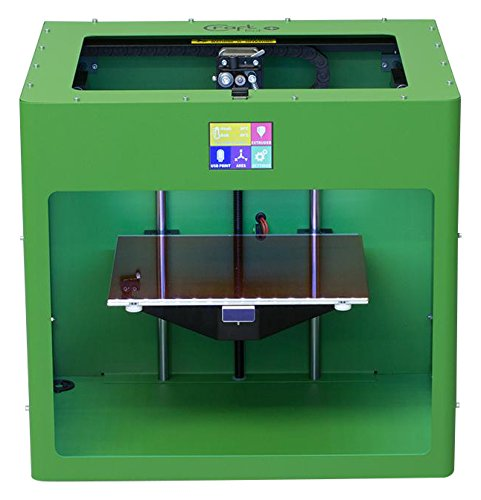 CraftUnique CU3DP-CBP-GR CraftBot PLUS Stampante 3D, PLA/ABS, RAL 6017, Verde Maggio