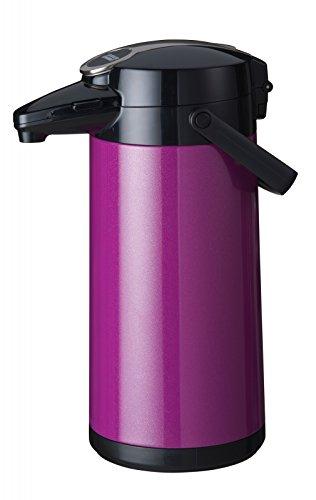 Bonamat Pumpkanne Isolierkannne Furento - LILA METALLIC - Edestahlinnenzylinder